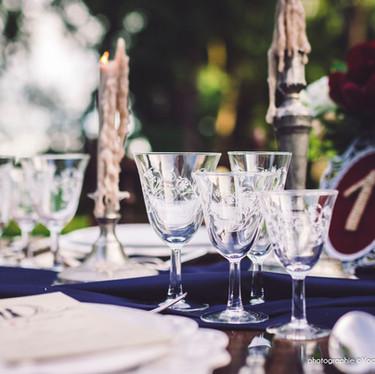 Wedding theme Adams Family - décoration de table pour mariage original