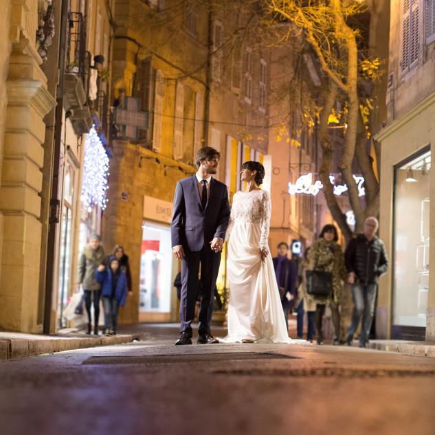 Mariage original à Aix-en-Provence