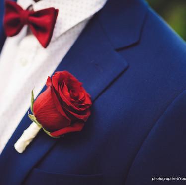 Wedding theme Adams Family - mariage bordeaux et bleu marine