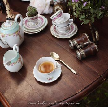Bar à thé steampunk pour un mariage original