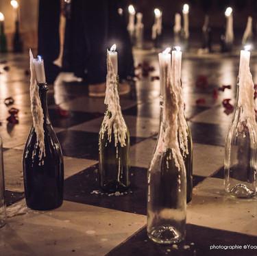 Wedding theme Adams Family -  décoration de mariage alternatif en hérault