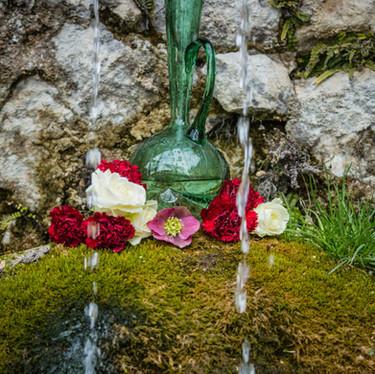 Décoration florale mariage original