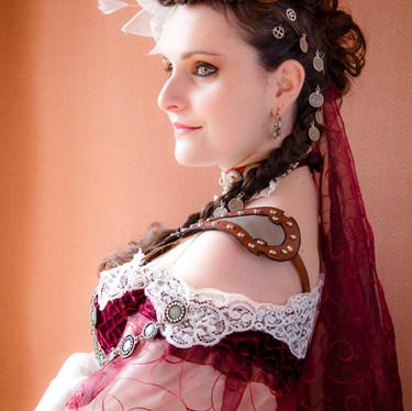 Steampunk bride - mariée steampunk - mariage steampunk