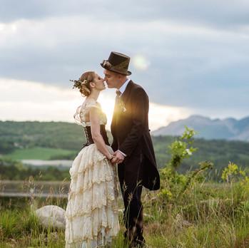 couple mariés steampunk