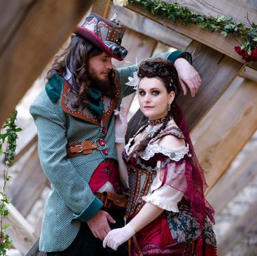 Mariage original dans un château