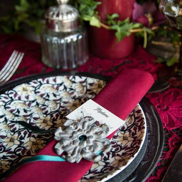 Décoration de table mariage steampunk