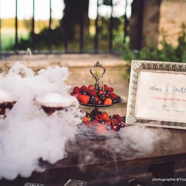 Wedding theme Adams Family -  animation bar à cocktail pour mariage original