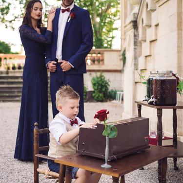 Wedding theme Adams Family - mariage alternatif