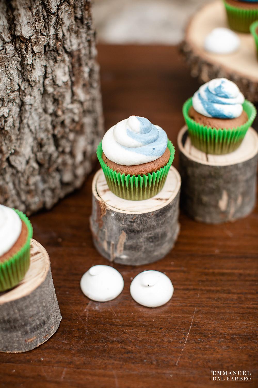 Idées de cupcake et de wedding cake originaux pour un mariage atypique. Wedding planner pour mariage insolite.
