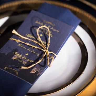 Papeterie sur-mesur pour un mariage original