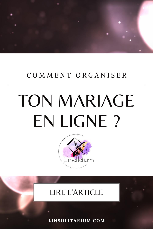 Conseil de wedding planner pour organiser ton mariage en ligne. Wedding planner sur Toulon, dans le Var et en Paca pour mariages originaux, insolites et atypiques.