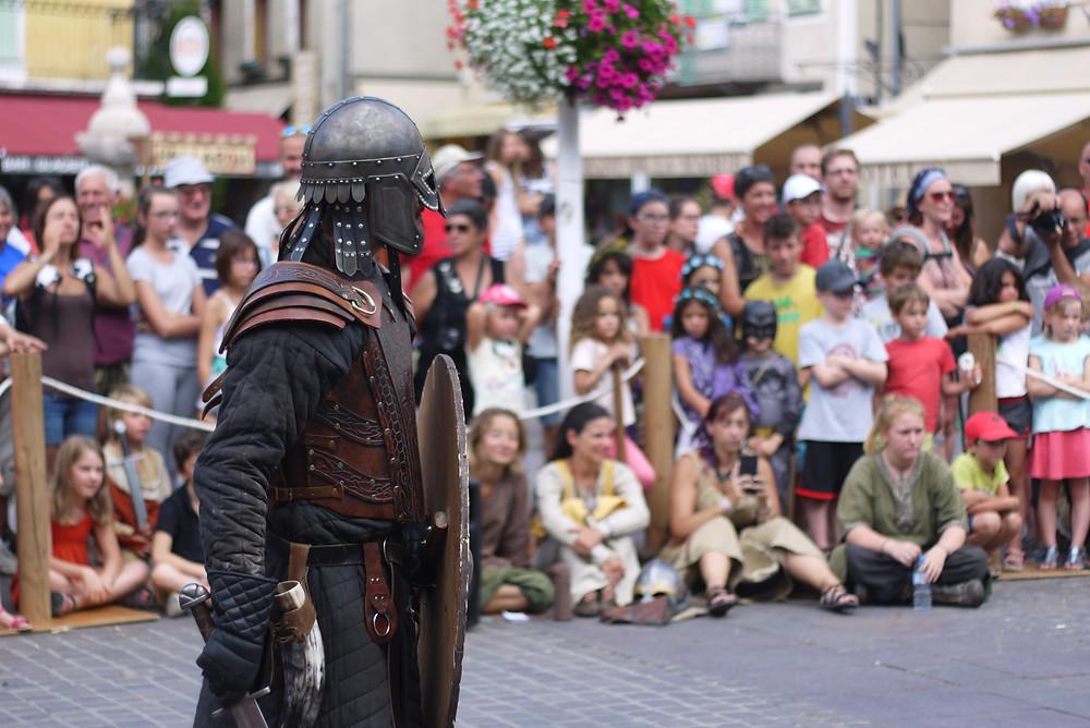 médiévales d'Embrun - chevalier