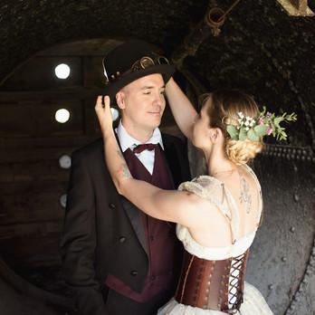 Couple pour un mariage original