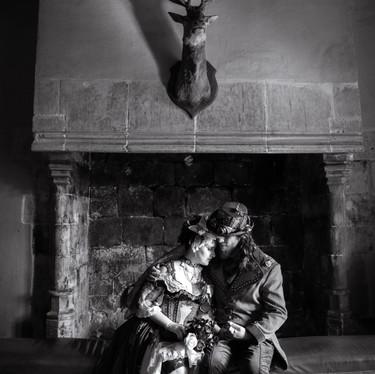 Mariage atypique dans un château