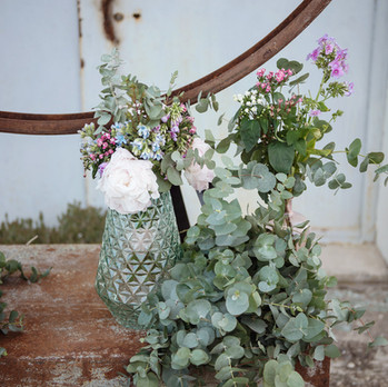 Décoration floral pour un mariage steampunk