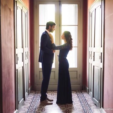 Wedding theme Adams Family - mariage atyique