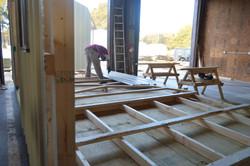 Portable Building Framing