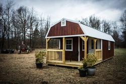 Premier Lofted Barn Cabin