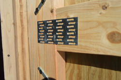 Truss Plates on all Joining 2x4s