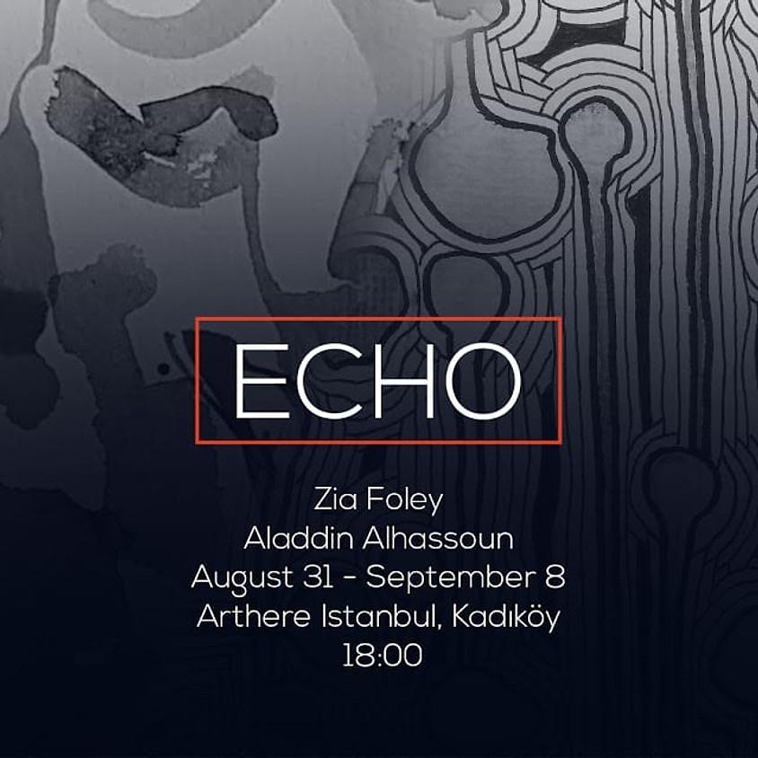 ECHO - exhibition - Zia Foley + Aladdin ALhassoun