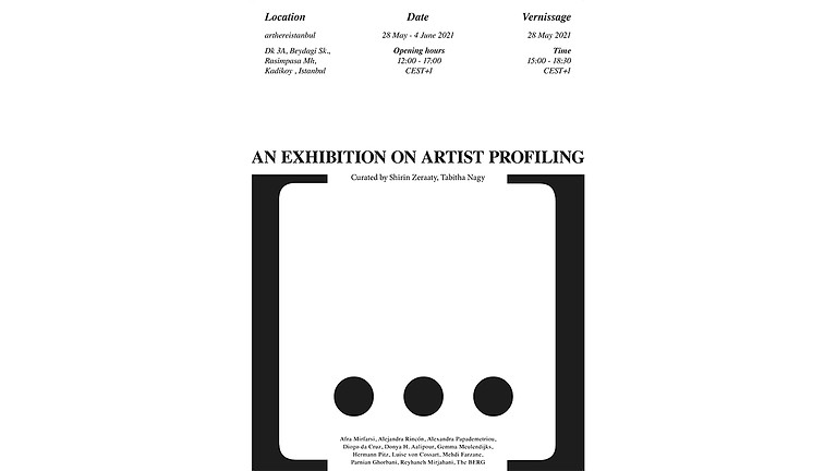 [...] An Exhibition on Artist Profiling