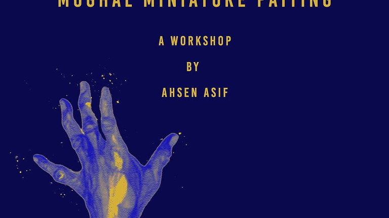 An Introduction to Mughal Miniature Painting By Ahsen Asif