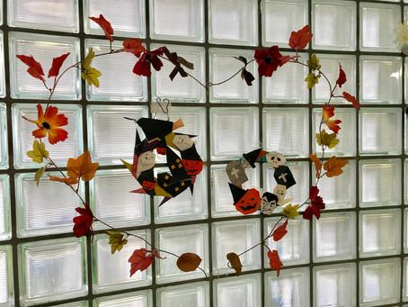 【きょういく基地NEWS⑭ 秋の飾り付けに】
