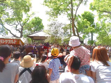 藤森神社の神事へ