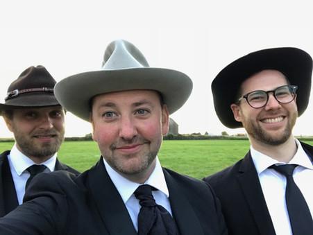 Barn Wedding - The New Shackletons Trio