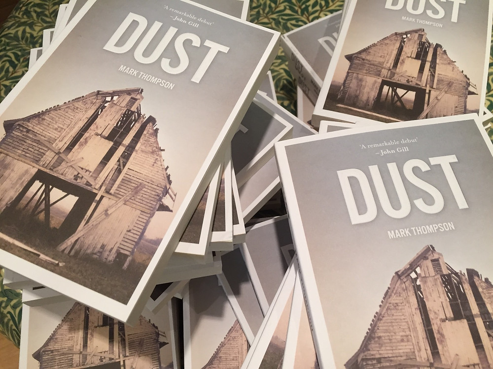 All welcome! DUST signing 1-3 Waterstones York tomorrow - Saturday...