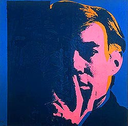Re-reading Society of Authors blogs. Books by 'celebrities'? Spare me. Warhol's genius... 15 mins...
