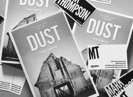 Revisiting Dust launch... as 2020 approaches and new novel comes to completion.... https://www.youtu