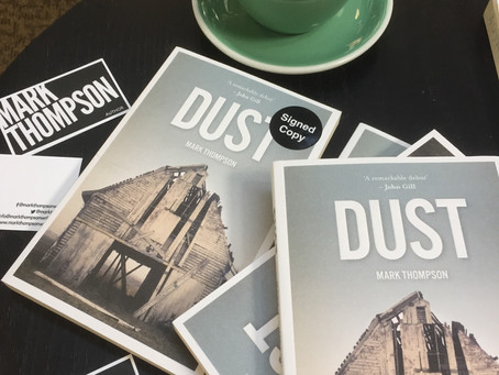 Lovely photos from Waterstones Bradford signing DUST last Saturday 14th Sept. 2017