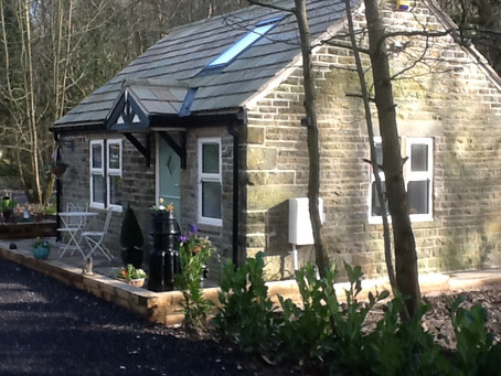 Excited to be heading to Bluebell Cottage for the weekend to work on new novel!