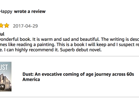 Such a wonderful review of DUST...