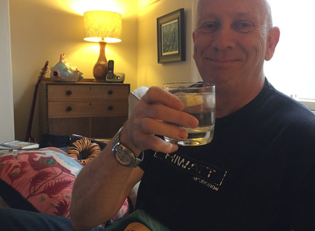 Celebrating.... Edits finally completed, and manuscript of new novel sent to publishers.... PHEW!!!