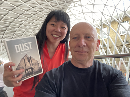 Dust at the station - with fabulous Faye!