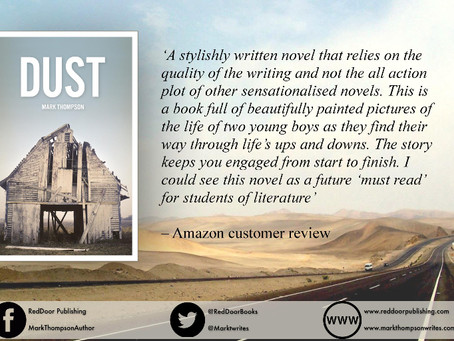 DUST review gaining tweets...