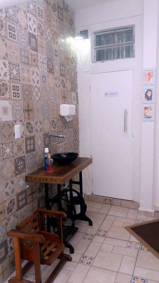 acesso a area externa- acesso banheiro