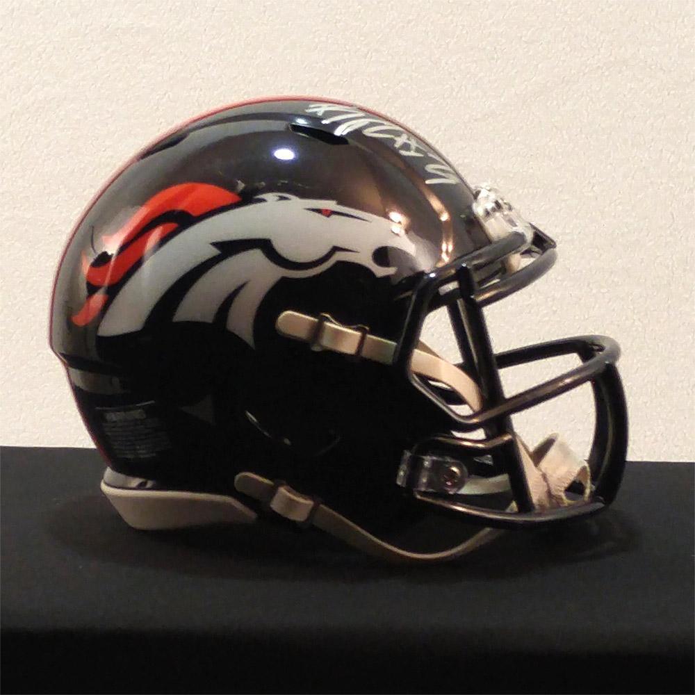 Bradley Roby Signed Broncos Speed Mi