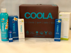 Gift Basket Courtesy of Coola