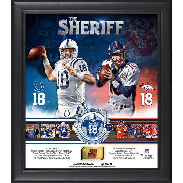 """Peyton Manning """"The Sheriff"""" Collage"""