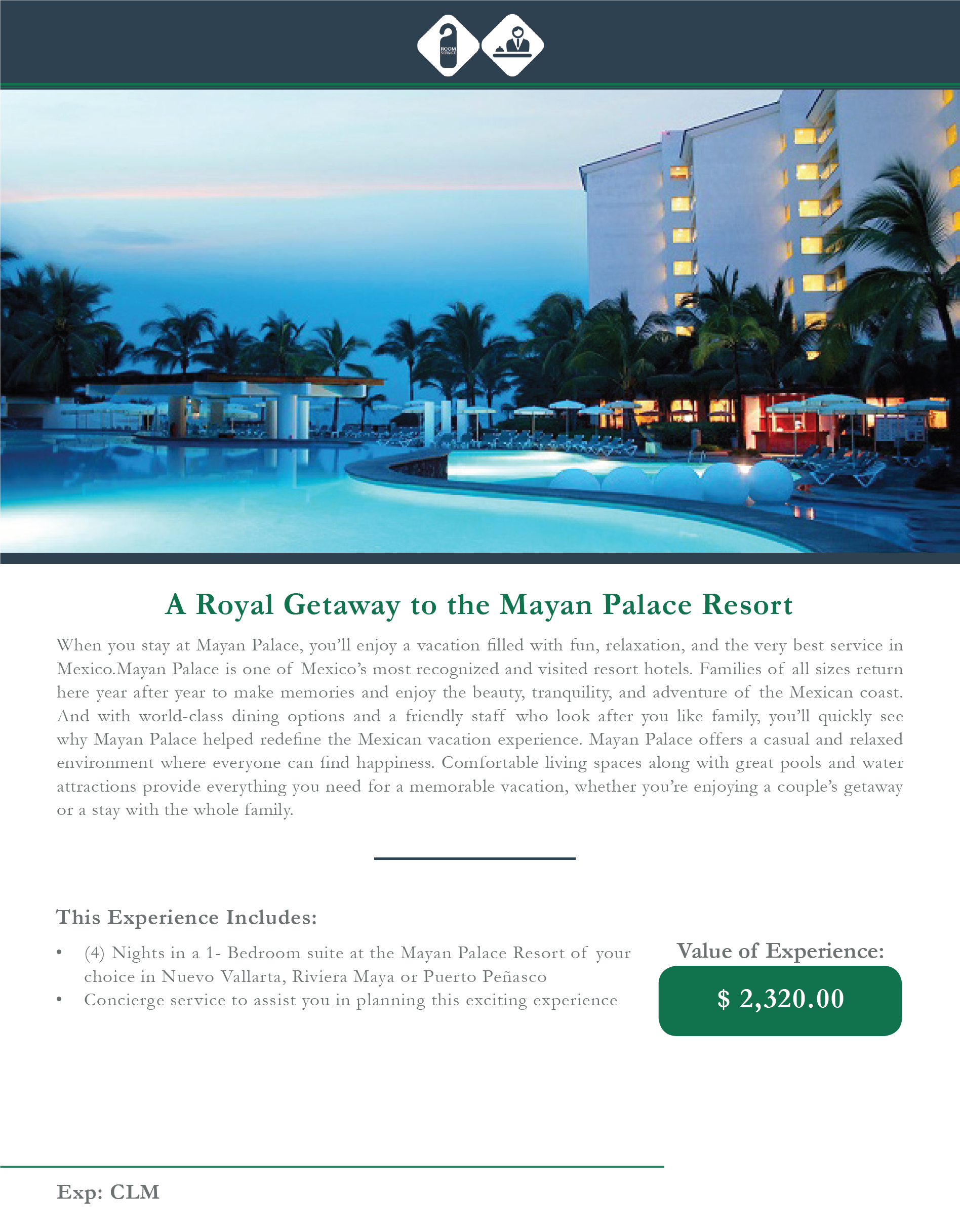 A Royal Getaway to the Mayan Palace