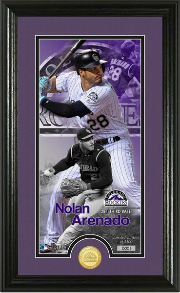Limited Edition Nolan Arenado Framed