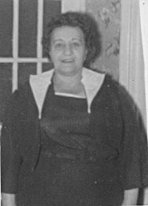 Josephine Zullo Mastroianni 1965-bw