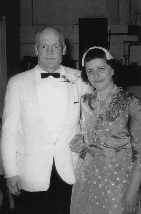 Grandpa Fabian and Grandma Cecelia 1954