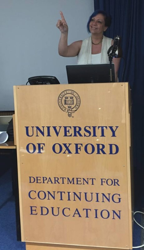 Debra at University of Oxford