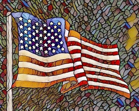 American - Print