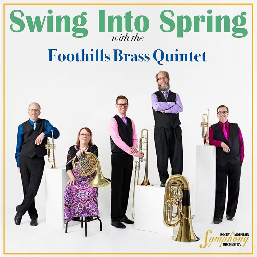 Foothills Brass in concert at the Polaris Centre for the Arts