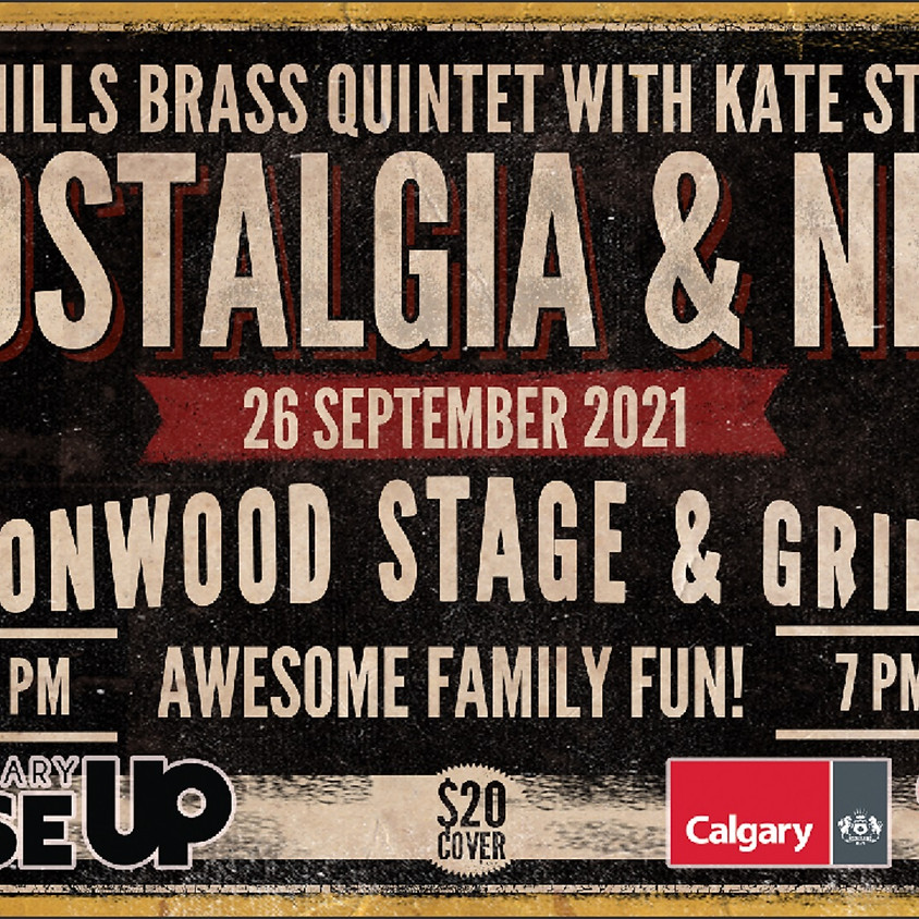 Rise-Up Weekends Presents: Foothills Brass with Kate Stevens -- Nostalgia and New!